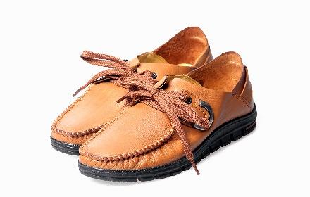 夏季新款透系带休闲男鞋