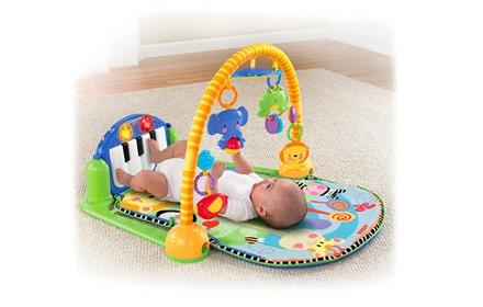费雪 欢乐成长之脚踏钢琴健身器