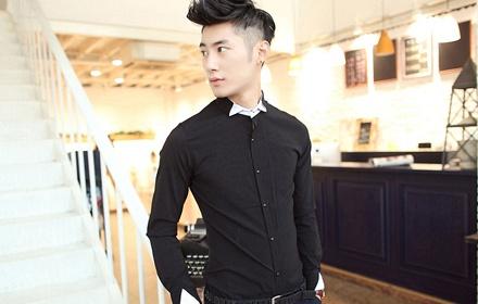 臻杰龙 男装时尚衬衫