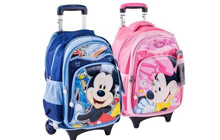 迪士尼 儿童拉杆书包