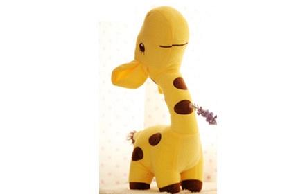 长颈鹿30cm小号毛绒玩具1