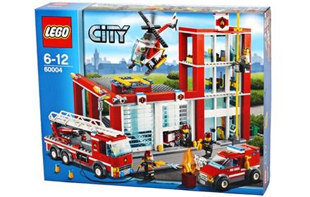 乐高消防总局共由752颗粒组成