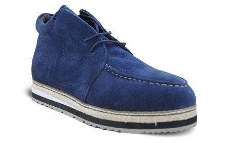 英伦时尚松糕男鞋