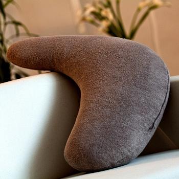 中国•荻嘉茂 毛圈布人体工学L型抱枕