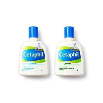 加拿大•丝塔芙 (Cetaphil)套装(洁面乳237ml+润肤乳237ml)