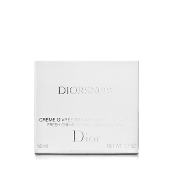 克丽丝汀迪奥(Dior)雪晶灵保湿乳霜/透白亮采保湿乳霜 50ml