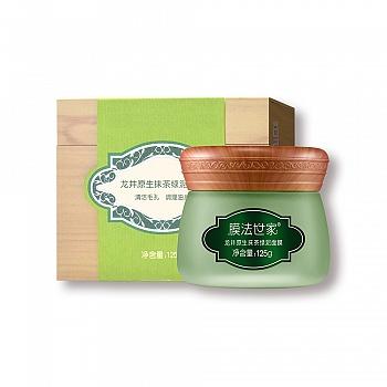 中国•膜法世家龙井原生抹茶绿泥面膜125g