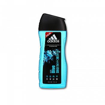 阿迪达斯 (Adidas)冰点男士沐浴露   250ml
