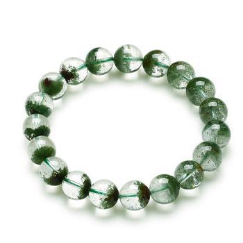 阿梵尼 绿幽灵水晶手链男女通用