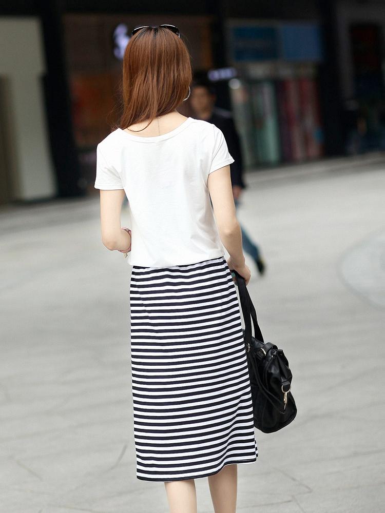博特 女士运动连衣裙B64白色 - 聚美优品 - 名品
