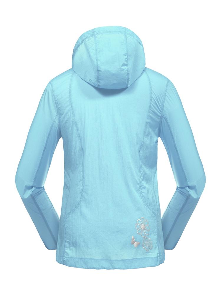 雷速 新款浅蓝色女士防晒衣 - 聚美优品 - 名品特