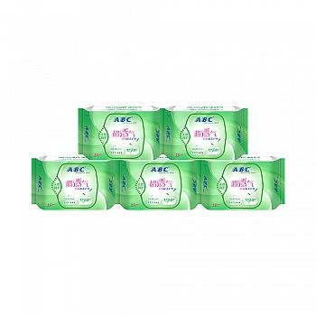 中国•ABC劲吸棉柔护垫-澳洲茶树精华 5包(共125片)