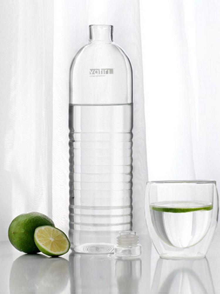 vatiri乐怡瓶个性创意矿泉水瓶户外运动水壶手工吹制