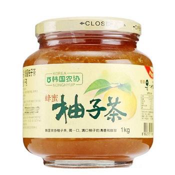 韩国进口农协 蜂蜜柚子茶1000g