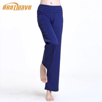 热浪 深蓝色活力时尚瑜伽长裤