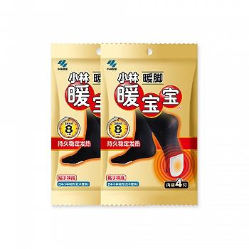 日本•暖宝宝牌暖脚暖宝宝4付装2包特惠装