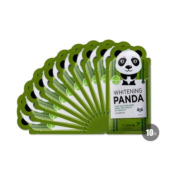 彩虹可爱动物熊猫