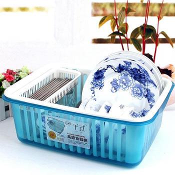 好彩依家翻盖有盖滴水碗架