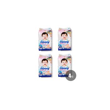 日本•尤妮佳Moony 纸尿裤L54(4包装),适用于9-14kg