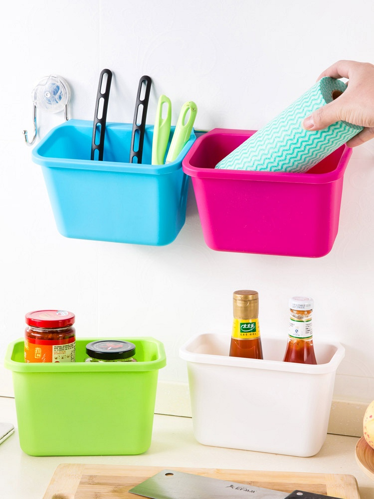 厨房橱柜门挂式垃圾桶