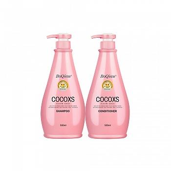 中国•博倩COCO经典香芬洗护套装(洗发露500ml+还原素500ml)