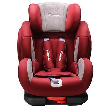 pouch汽车安全座椅ISOFIX接口KS02红