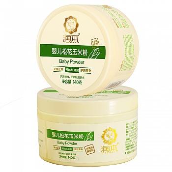 中国•润本Runben 婴儿松花玉米粉 140g 2盒装