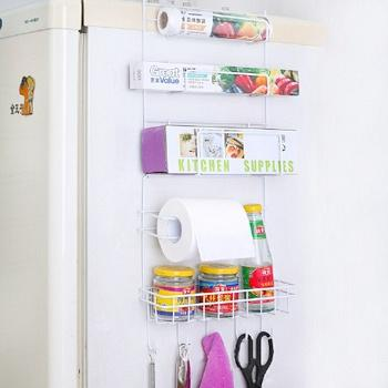 悠家良品多功能冰箱3层侧壁挂架