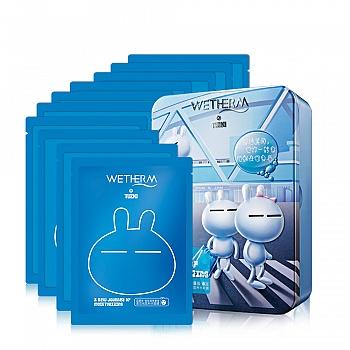 温碧泉(WETHERM)兔斯基限量版泉芯长效补水面膜10片