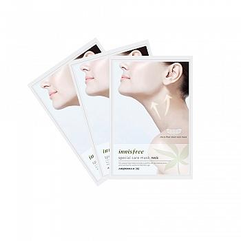 韩国•悦诗风吟(innisfree)滋养护理颈膜 3片装
