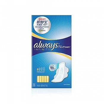 美国•护舒宝未来感·极护卫生巾日用36片