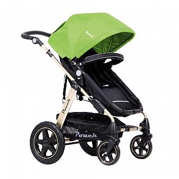 pouch高景观婴儿推车P680 金爵绿
