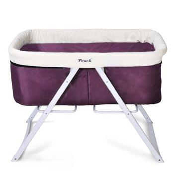pouch多功能宝宝床H19紫
