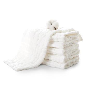 澳斯贝贝 婴儿12层纱布尿布5条装