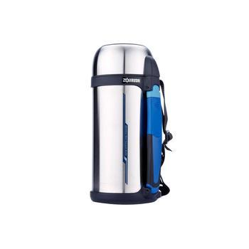象印进口不锈钢保温壶CC15户外旅游壶1.5L-钢色XA