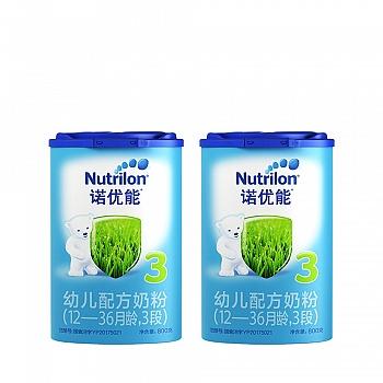 荷兰•Nutrilon诺优能幼儿配方奶粉(12-36个月龄,3段)800g*2