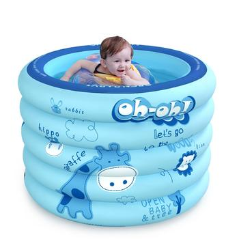欧培婴儿充气游泳池 圆形普通版