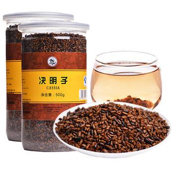 四月茶侬 决明子茶500g× 2罐