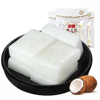 南国食品椰子糕200gX3袋