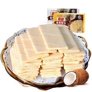 南国椰香薄饼80gX2盒 咸+甜味组合