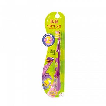 韩国?保宁(B&B)儿童牙刷(第二阶段)颜色随机