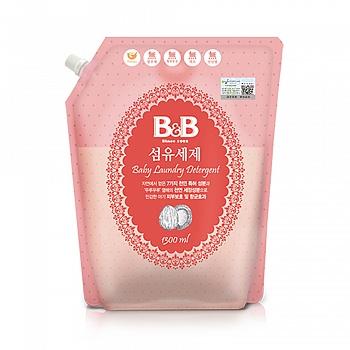 韩国?保宁(B&B)纤维洗涤剂 (盖子袋装) 1300ml