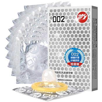 倍力乐安全避孕套002白金版10只装