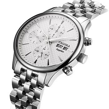 中国•卡罗莱全自动钢带机械表男腕表
