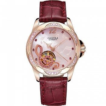 中国•卡罗莱全自动机械镶钻女士手表