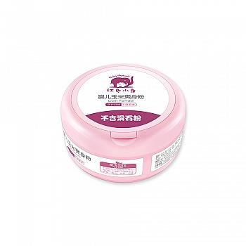 中国•红色小象婴儿玉米爽身粉120g
