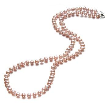 中国•漂亮百合 淡水珍珠项链佳丽