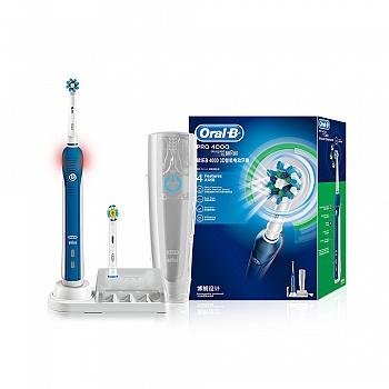 德国•欧乐B 4000 3D智能电动牙刷