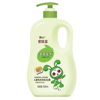 中国•宝宝金水儿童倍润洗发沐浴露1L
