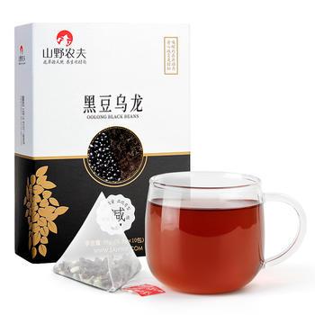 山野农夫 黑豆乌龙袋泡茶 盒装 98g